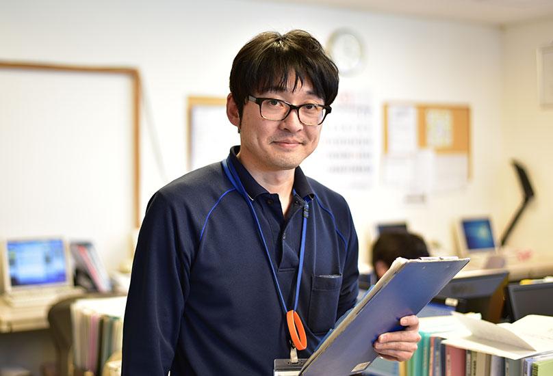 小林悟 主任主任介護支援専門員/2013年度中途入職