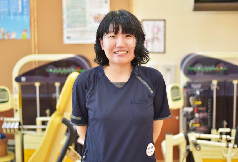 佐竹里実 通所リハビリテーション・作業療法士/2019年度中途入職